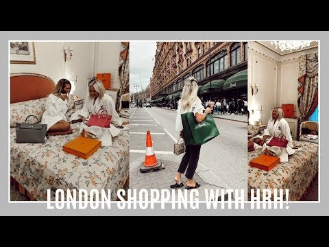 SHOPPING IN LONDON WITH HRH! HERMES, MANOLO & DIOR SHOPPING | IAM CHOUQUETTE