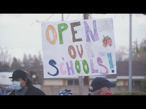 Elk Grove Unified parents protesting distance learning, want kids back in school