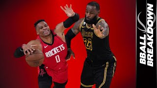 Russell Westbrook Costs Houston Best Chance At Series: Rockets vs Lakers Game 2 | 2020 NBA Playoffs