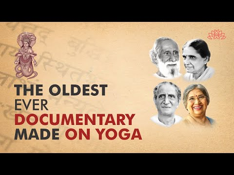 1st ever documentary made by the government of India on Yoga in association with The Yoga Institute