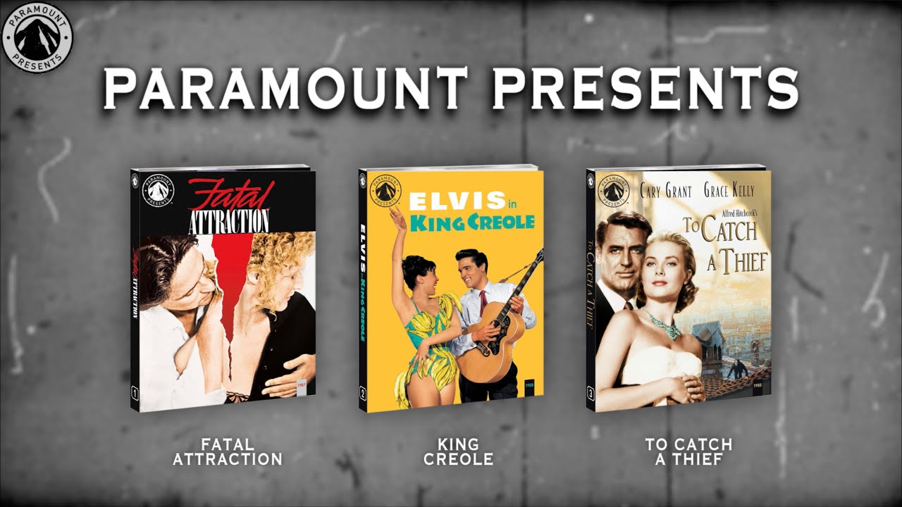 PARAMOUNT PRESENTS - A DETAILED UNBOXING OF THE FIRST 3 BLURAYS IN THEIR NEW COLLECTION | BLURAY DAN