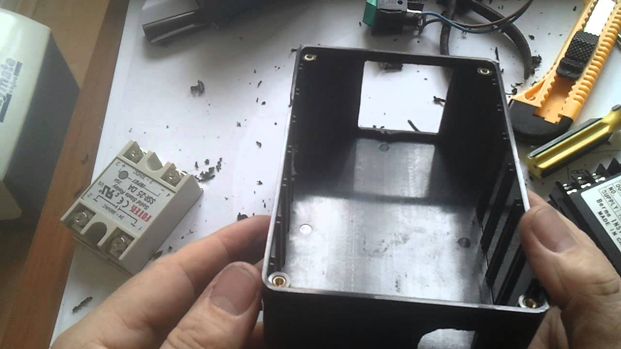 Making Accurate Holes In Electronics Project Boxes Youtube