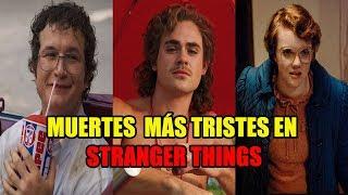 Top 6 MU3RT3S Más Tristes En Stranger Things  Cross bones