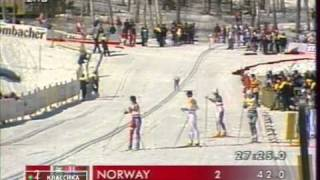 1995 WSC Thunder Bay Rel 4x5 km M RUSSIA NORWAY SWEDEN