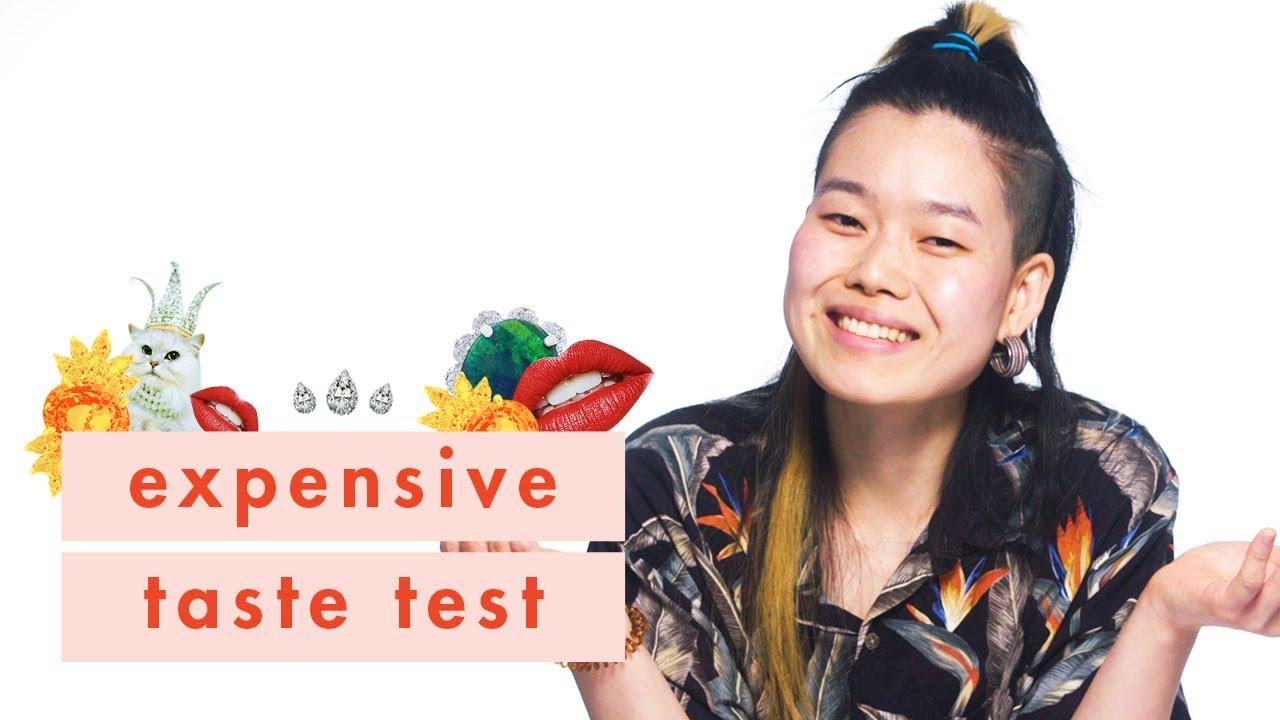 Delish Food Expert June Xie Tests Her Budget Eats Knowledge | Expensive Taste Test | Cosmopolitan