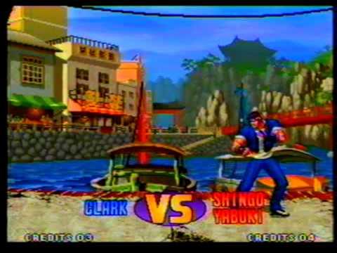 "test  vhs  gameplay  kof 98  con ""julio naquira"""