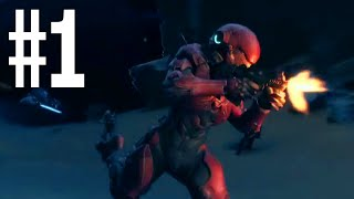 Halo 5 Guardians Co-Op - You Look Like A Decepticon - (Walkthrough Part 1)