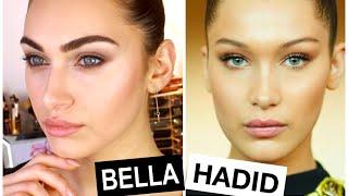 Bella Hadid Inspired Beautifying Makeup // Review MAC Oval 6 Brush | RubyGolani