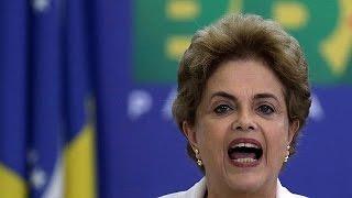 مستقبل الرئيسة البرازيلية على المحك   14-4-2016