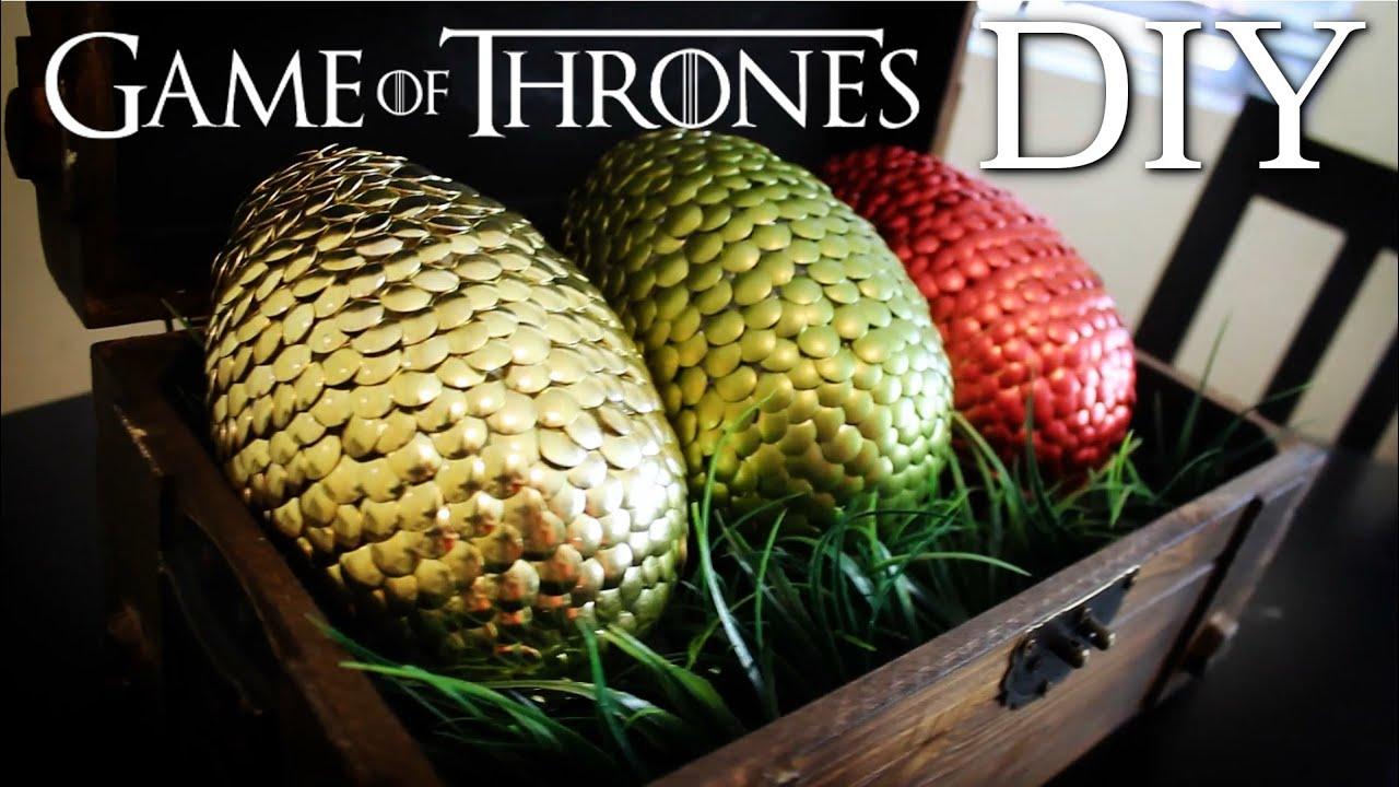 Game Of Thrones Dragon Eggs Diy Youtube
