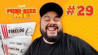 ¡Leña con olor a KFC! | Día 29 | #MiniSizeMe | El Guzii
