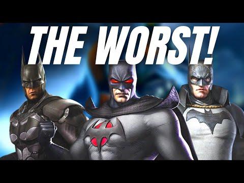 Ranking ALL Batman