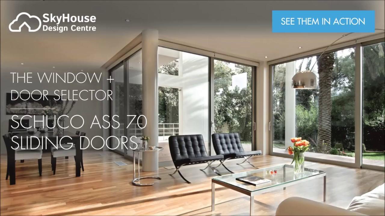 Schüco ASS70 Sliding Patio Door At The Sky House Design Centre