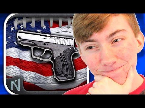AMERICAN FOOTBALL: GUNS & BALLS (iPhone Gameplay Video)
