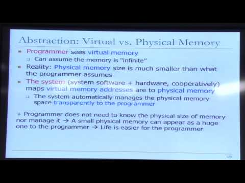 Lecture 17. Memory Hierarchy and Caches - Carnegie Mellon - Comp. Arch. 2015 - Onur Mutlu