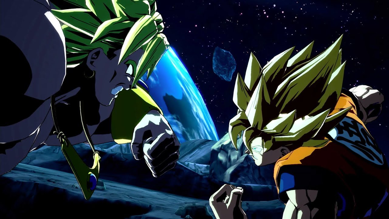 Dragon Ball Fighterz Bardock Broly Launch Trailer X1 Ps4 Steam