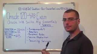 1Z0-478 – Oracle Exam SOA Suite Test Essentials Questions