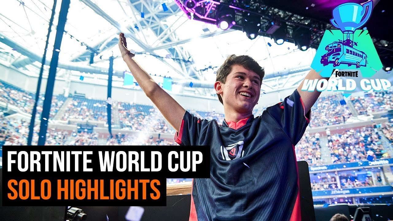 Fortnite World Cup - Solo finals highlights thumbnail