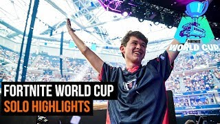 Fortnite World Cup - Solo finals highlights