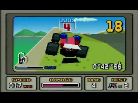 Classic SNES - Stunt Race FX Part 1