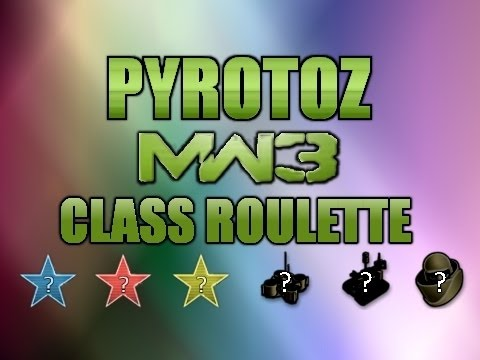 MW3: Class Roulette - ACOG L118A on Mission