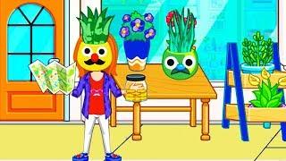 Играем в MY CITY ПИЖАМНАЯ ВЕЧЕРИНКА #2. Мультфильмы для детей