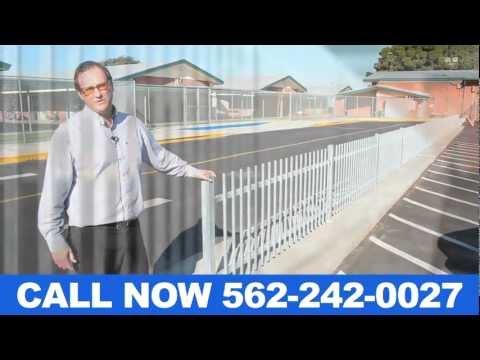 Commercial Security Fencing Contractors La Habra CA Call (562) 242-0027 Los Angeles CA