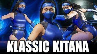 Mortal Kombat 11 - Klassic Kitana is FANTASTIC...Get it?