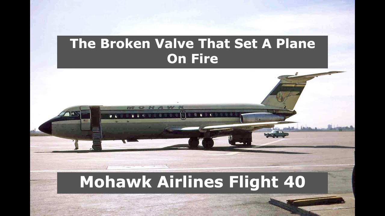 Burning Up From Inside | Mohawk Airlines Flight 40