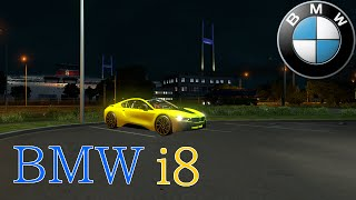 ets2 bmw i8 high speed driving in tokyo