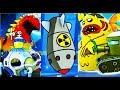 БОЛОТНАЯ Атака #47 Атомная бомба против БОССОВ БИТВА с БОССАМИ  Игра для детей Swamp Attack