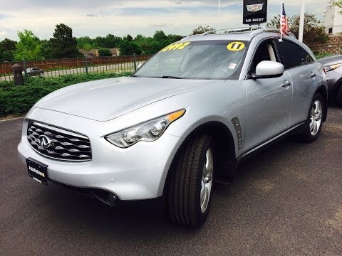 2011 Infiniti FX35 AWD (Start Up, In Depth Tour, and Review)