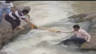 People Swept Away by Flood compilation