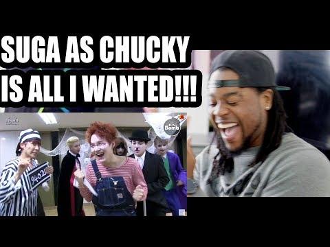 BTS | SUGA as CHUCKY!!! VVar of Hormone in Halloween | DANCE [BANGTAN] | REACTION!!!