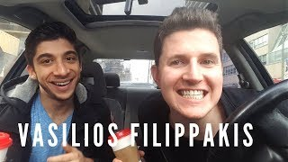 Vasilios Filippakis Interview: Moving, Acting, and Coming Out | CAR THERAPY