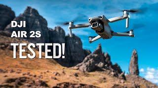 DJI Air 2S - STUNNING 5.4K Footage of Scotland!