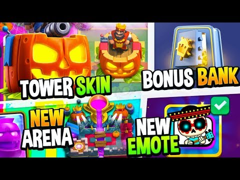 Clash Royale SEASON 4 SHOCKTOBER FULL Update Gameplay Review!!