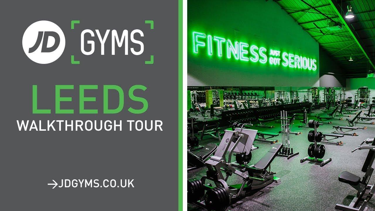 JD Gyms Leeds  Walkthrough Tour  YouTube