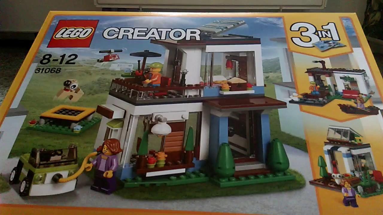 UNBOXING: LEGO CREATOR (Modular) 31068 - Modernes Zuhause - YouTube