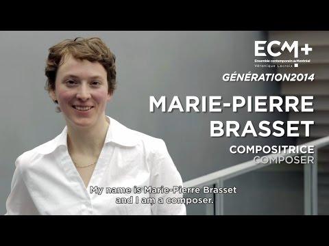 ECM+ Génération 2014 Marie-Pierre Brasset