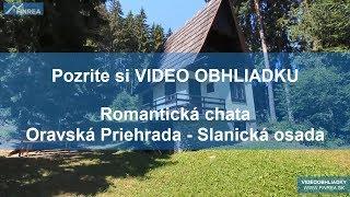 PREDAJ Romantická chata s krbom - Oravská Priehrada - Slanická osada