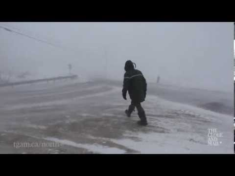 You may not be so quick to complain about winter after watching this