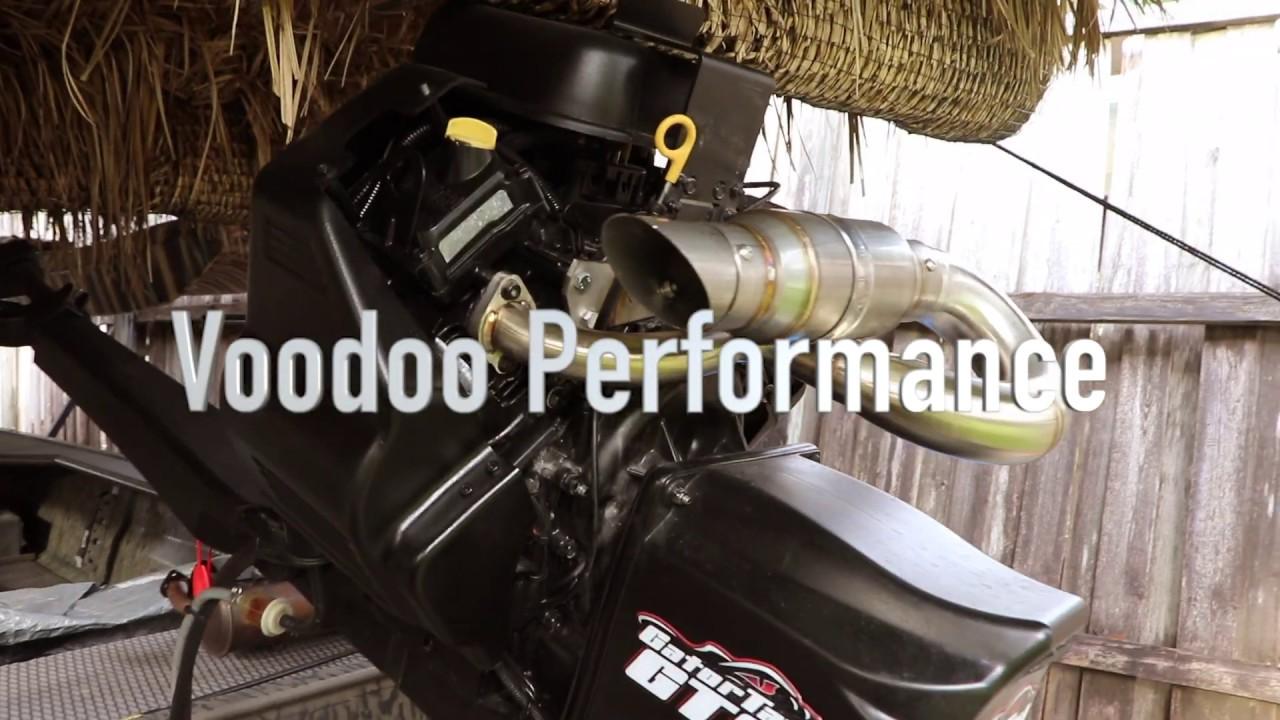 Gatortail GTR40xd stock muffler vs  Voodoo Performance (sound comparison)