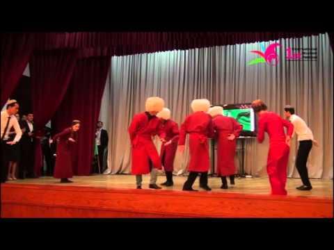 Qədim Türkmən rəqsi Güştdəpti. Ancient Turkmen dance Gushtdepti