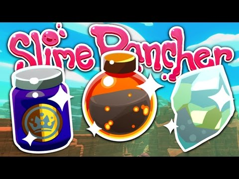 RARE RESOURCES - Lava Dust, Royal Jelly and Strange Diamond - Slime Rancher #20