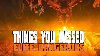 Things You Might Have Missed in Elite Dangerous