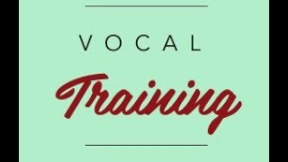 Vocal Exercises 3