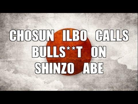 NEWS: Chosun Ilbo Calls Out Shinzo Abe on Yasukuni Shrine