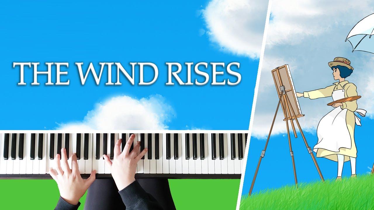 The Wind Rises Theme Kaze Tachinu Studio Ghibli Piano Cover Youtube