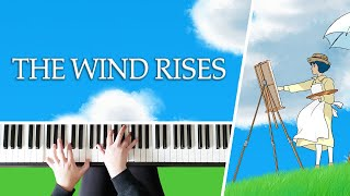 The Wind Rises Theme - Kaze Tachinu || Studio Ghibli - Piano Cover